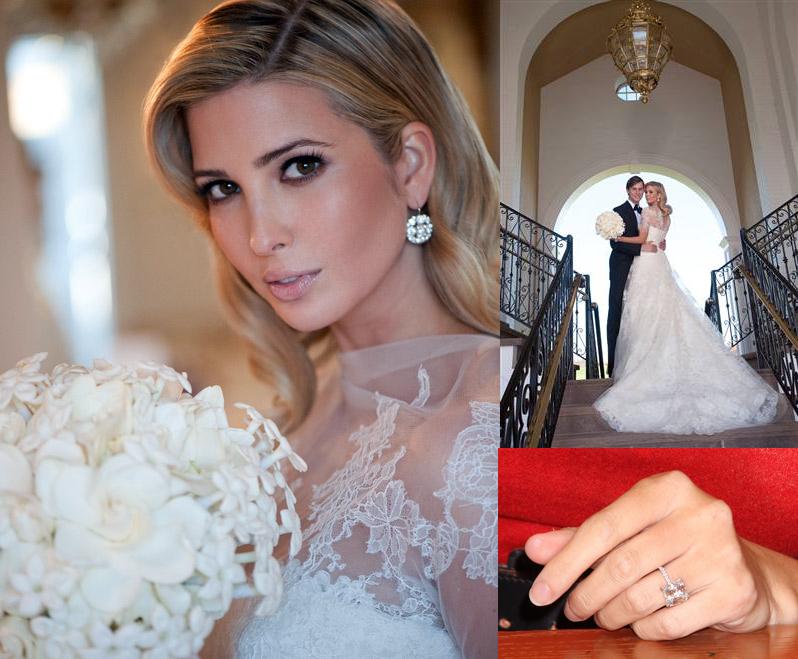 Ivanka Trump Vera Wedding Dress